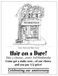 Shear Touch Hair on Dare